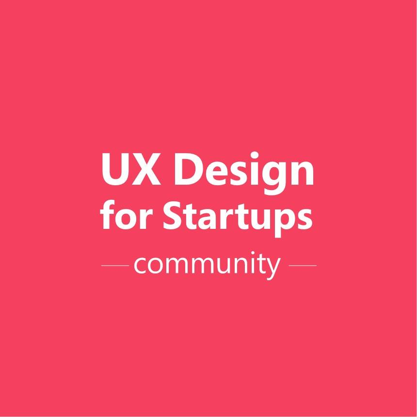 UX Design for Startups